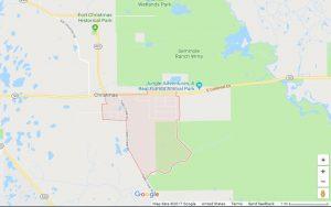 Google map of Christmas